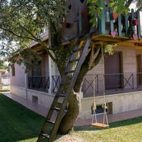 4. Chalet con encanto - Casita árbol