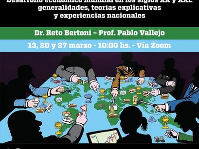 Curso de actualización docente de Economía 2021. Desarrollo económico mundial en los siglos XX y XXI