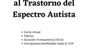 Curso Introductorio al Trastorno del Espectro Autista
