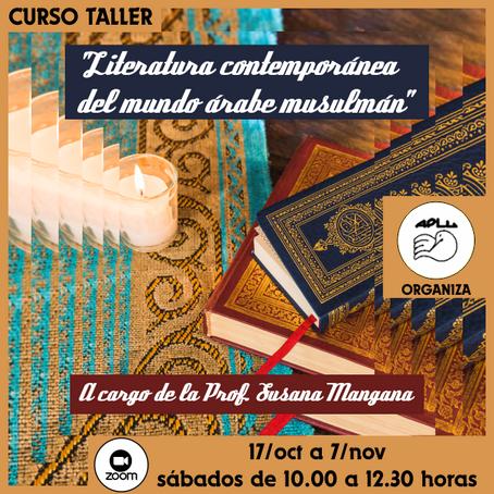 """Audio disponible: Curso Taller: """"Literatura contemporánea del mundo árabe musulmán"""""""
