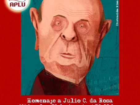 Encuentro homenaje a Julio C. da Rosa  - Actividad Online