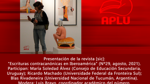 APLU CONVOCA a socios, colaboradores y público en general a la presentación de la revista [sic] #29