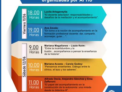 Primeras jornadas para profesores adscriptores de Historia organizadas por APHU