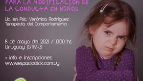 """Taller """"Aportes de la Teoría Cognitivo – Conductual para la modificación de la conducta en niños"""""""