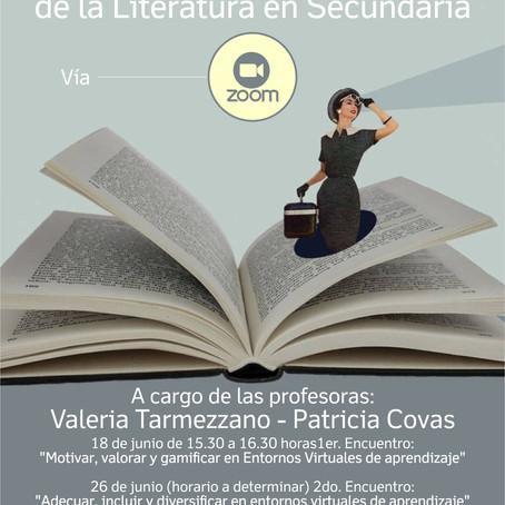 Conferencia/TallerVirtualidad y enseñanza de la Literatura en Secundaria