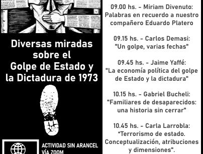DIVERSAS MIRADAS SOBRE EL GOLPE DE ESTADO Y LA DICTADURA DE 1973
