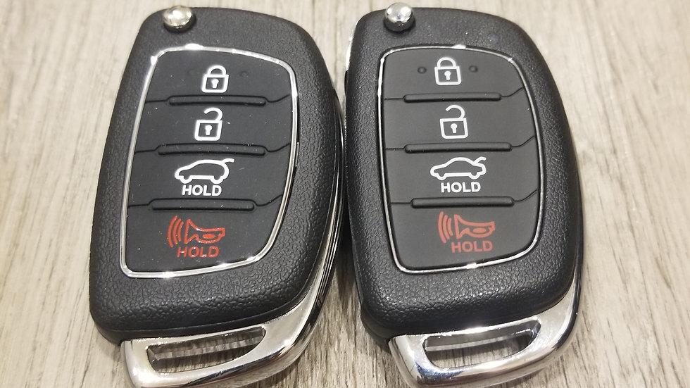 2013-2019 Hyundai Remote Flip Key (includes program)