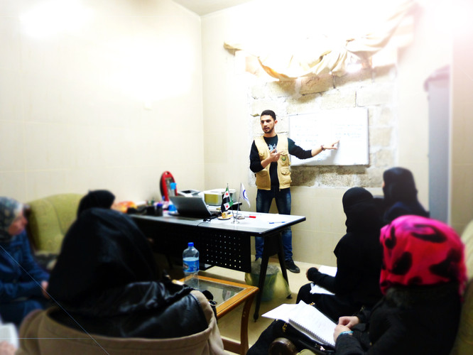 teaching dental assistants