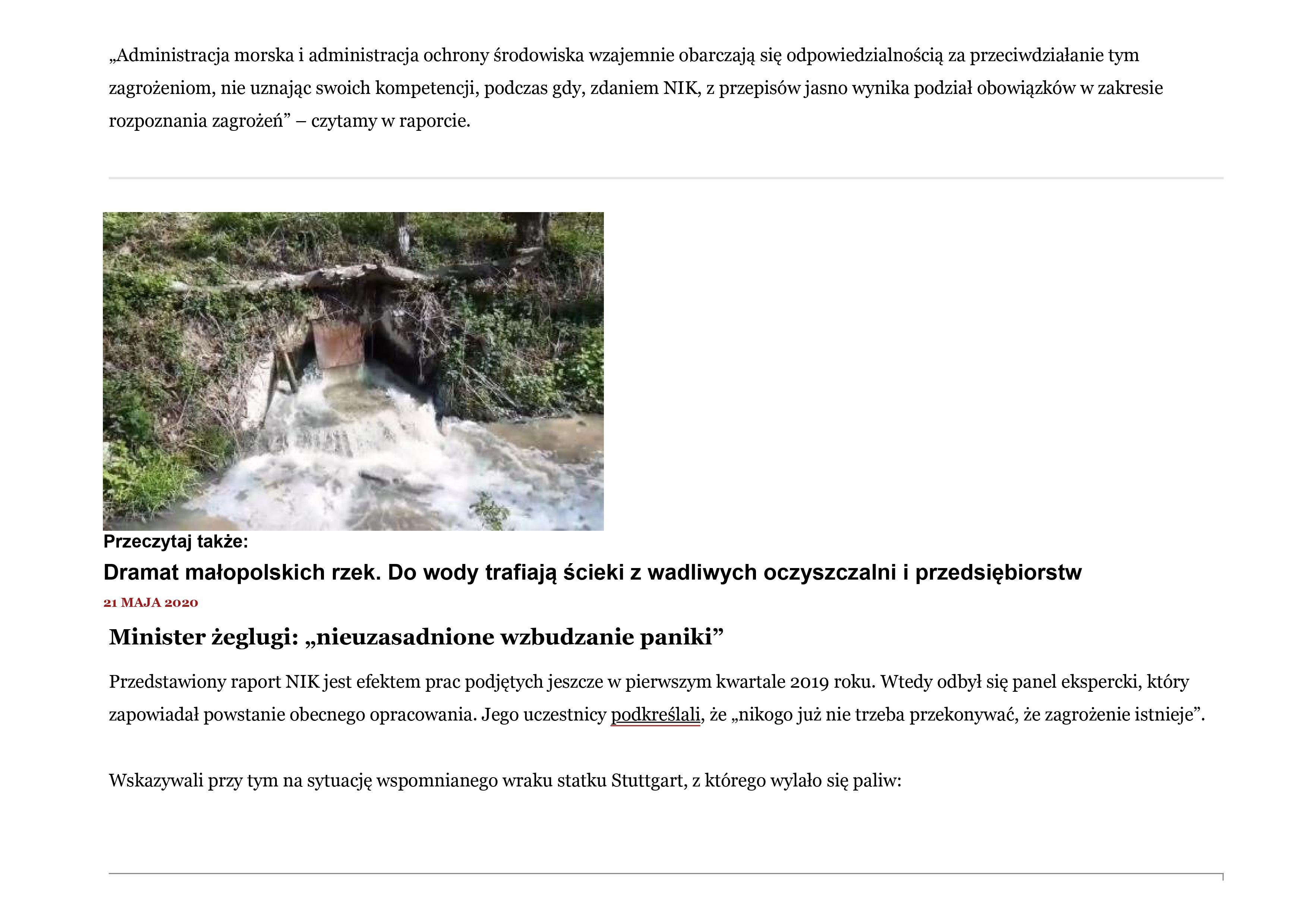 Zanieczyszczone Morze Bałtyckie 11