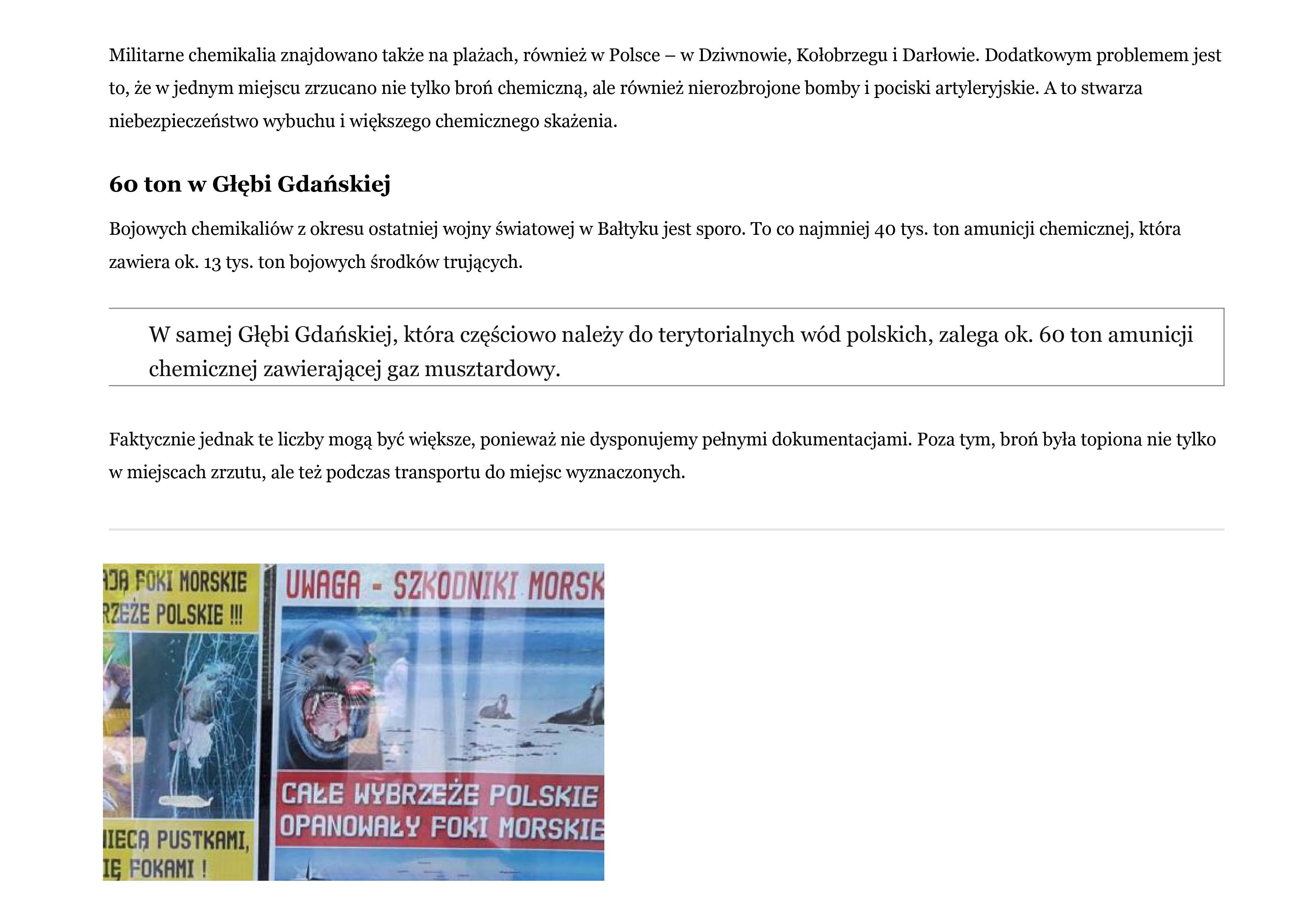 Zanieczyszczone Morze Bałtyckie 10