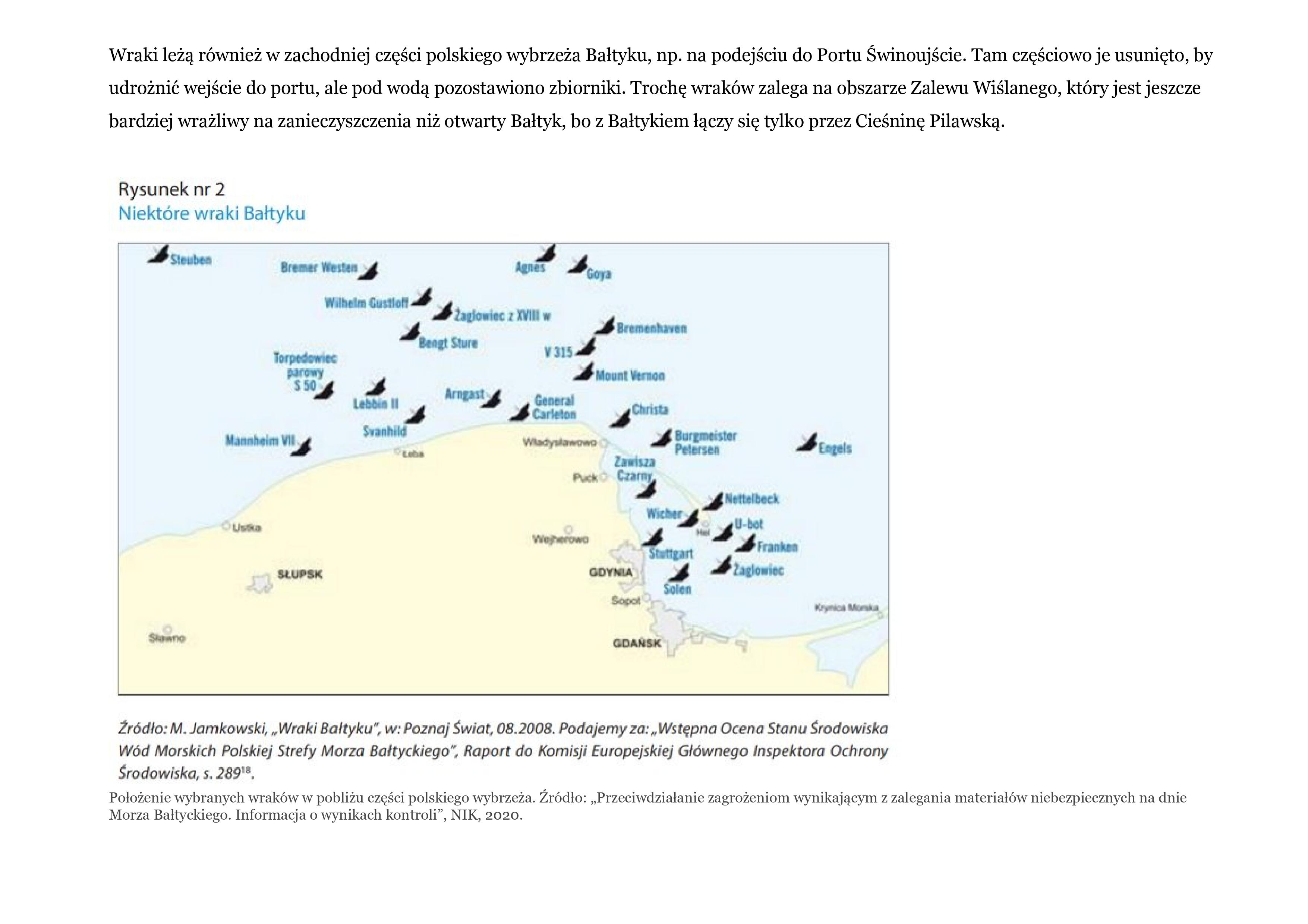Zanieczyszczone Morze Bałtyckie 4
