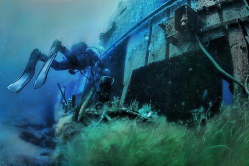 Nurkowanie na wyspie Comino.