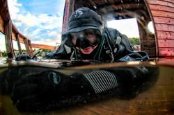 Diving Zakrzówek (Poland)