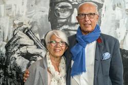 BAS-FACE TO FACES-Inauguration du portrait d'Herman Van Rompuy
