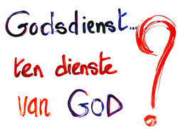 GODSDIENST TEN DIENST