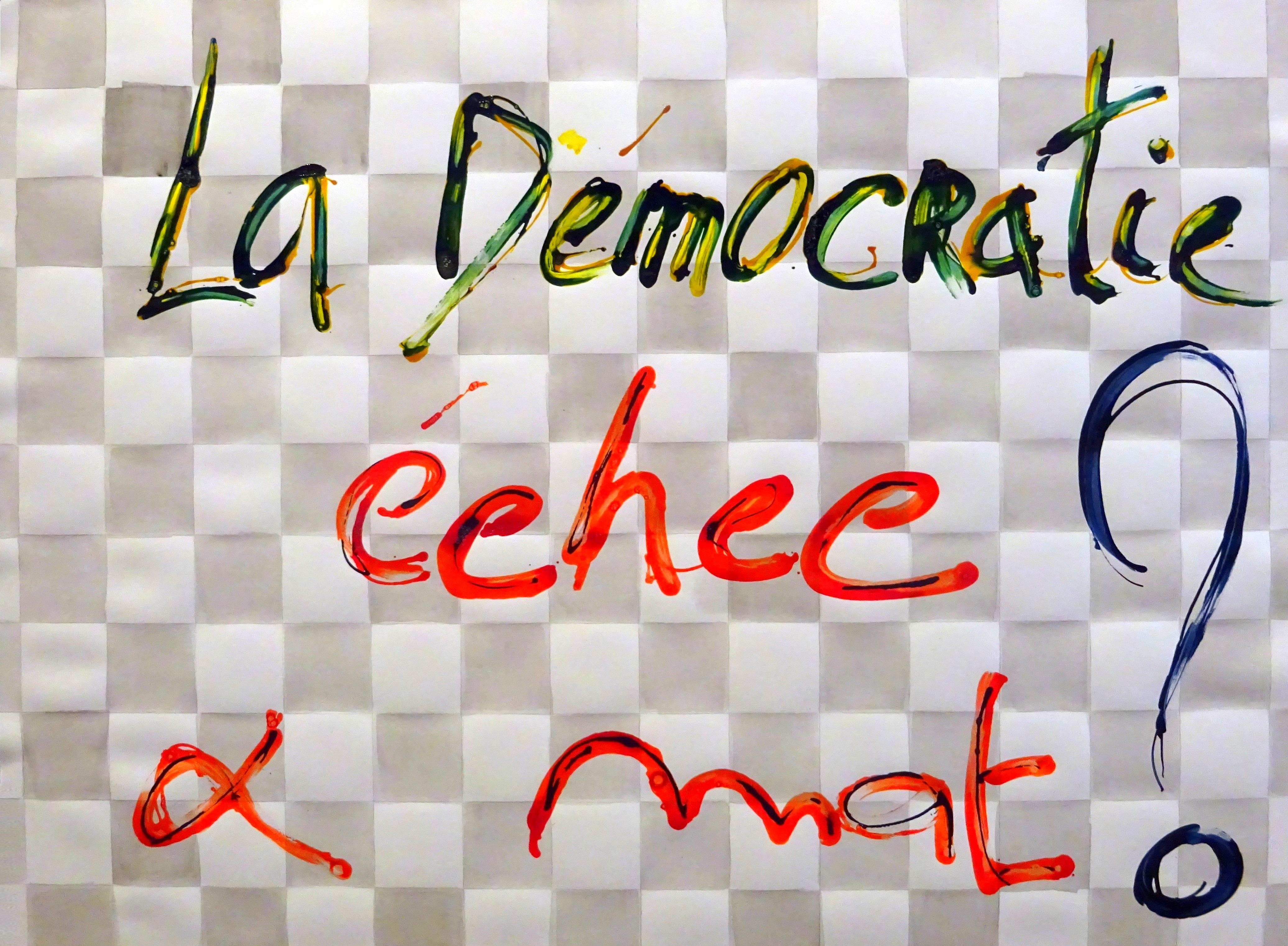 LA DEMOCRATIE ECHEC&MA