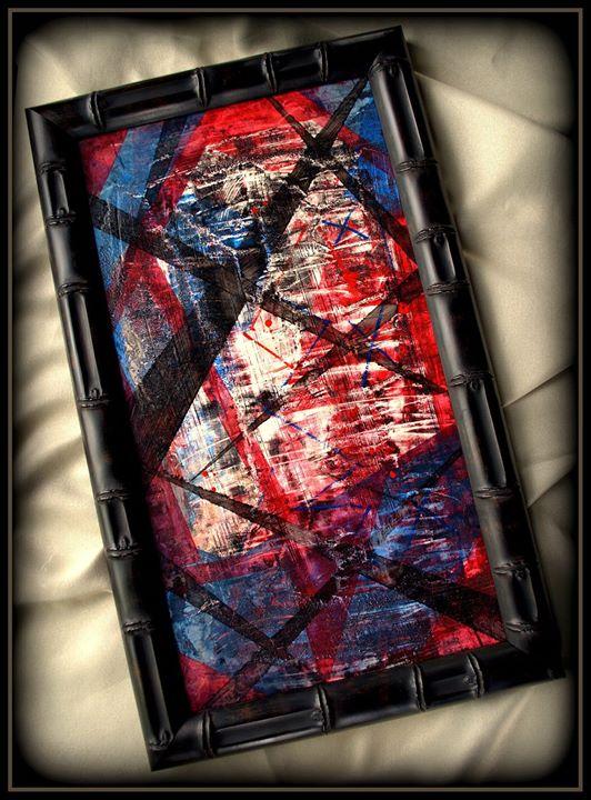 Decending - abstract art