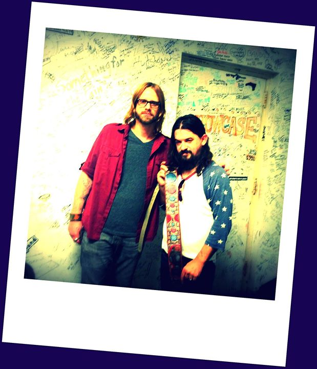 Kyle & Shooter Jennings backstage