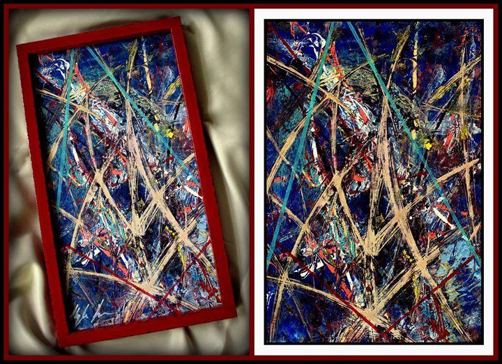 Perfidious-Kyle Landas Abstract Art