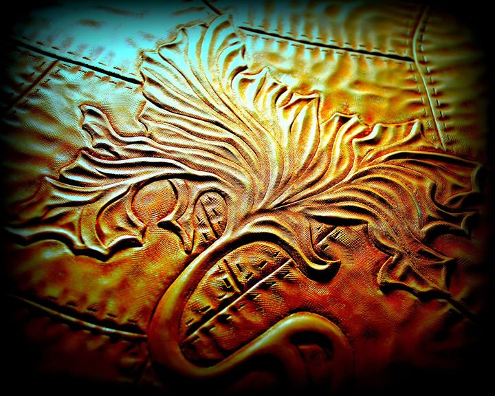 Unity Tree Leather Carving