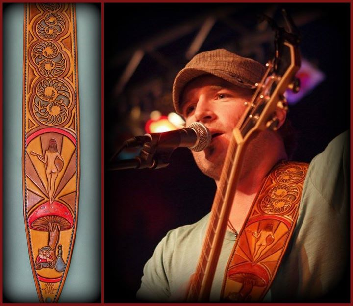 Jerrod Niemann's first custom strap