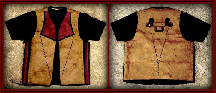 Custom vest created from a vintage fender amplifier cover