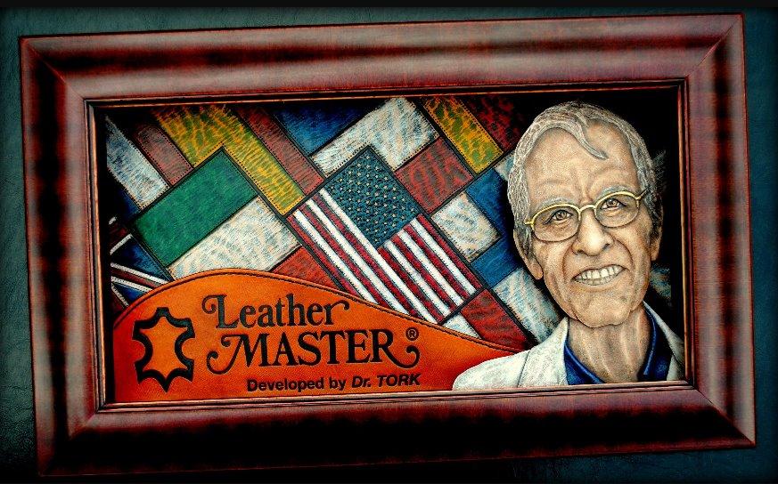 Dr Tork- Leather Master- Kyle Landas- Leather Portrait