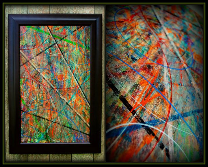 Mixed Signals abstract art