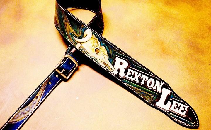Rexton Lee's badass custom strap!