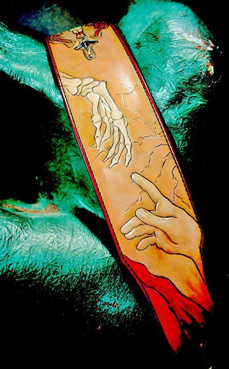 Hand Of God Custom Guitar Strap