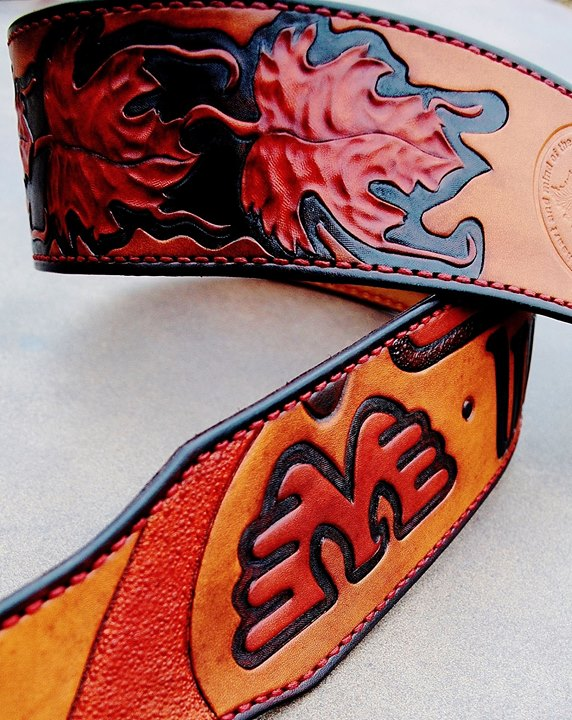 Waylon Jennings Tribute Guitar Strap
