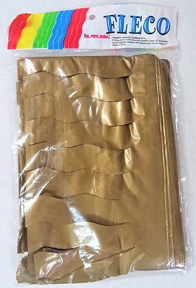 Fleco Color Dorado 25m