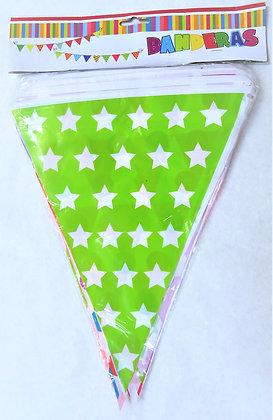 Banderín multicolor decorado