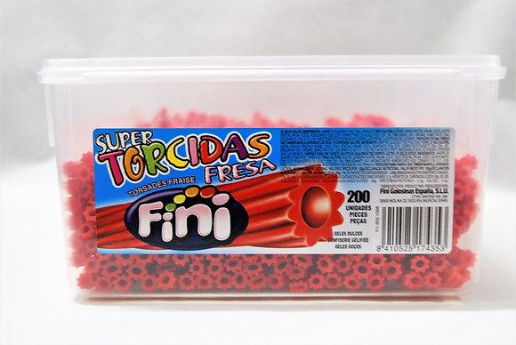 Super torcidas de fresa FINI