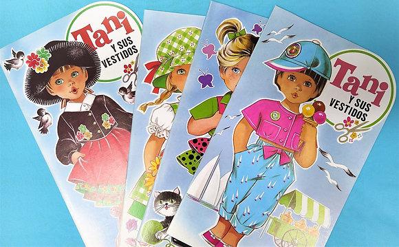 Colección Tani y sus vestidos 1989