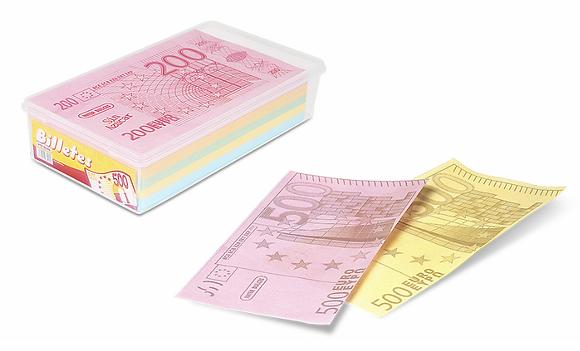 Billetes oblea