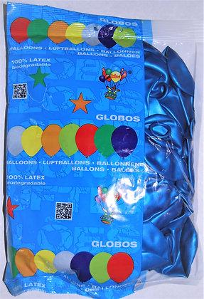 Globos 12T azul 50u
