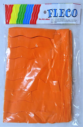 Fleco Color naranja 25m