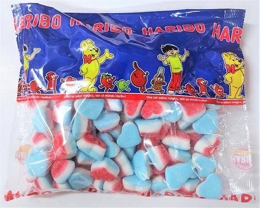 Corazón Tricolor azul Haribo