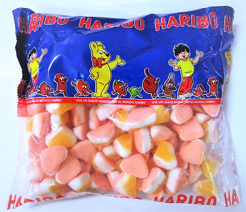 Corazón Tricolor Melocotón Haribo