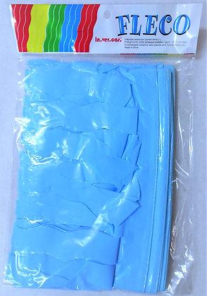 Fleco Color Azul Claro 25m