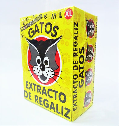 Extracto de regaliz Gatos XL