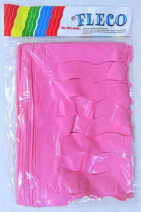 Fleco Color Rosa 25m
