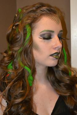 Medusa Halloween Make-up