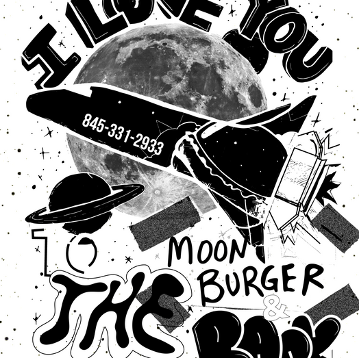 I love You To The Moonburger & Back (2021)