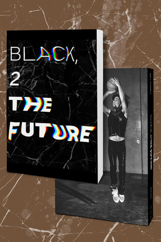 Parsons School of Design: Senior Thesis (exp. 01/02) titled BLACK, 2 THE FUTURE