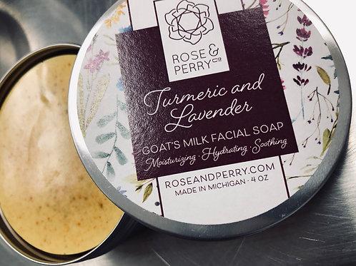 Goat's Milk Turmeric & Lavender Facial Cleanser