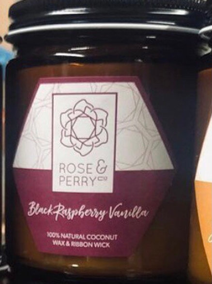 Black Rapsberry Vanilla Coconut Wax Massage Oil Candle