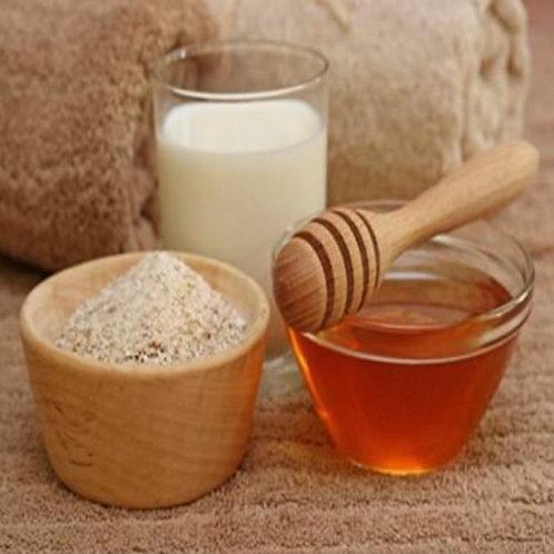 Oatmeal Milk & Honey Coconut Massage Oil Candle