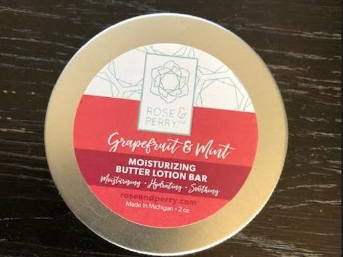 Grapefruit & Mint Butter Lotion Bar